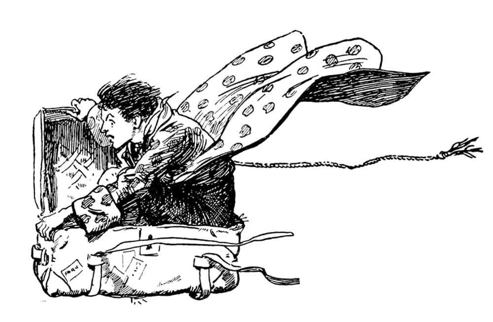 Gordon Browne, from Fairy tales from Hans Andersen, London, 1906 FRONTAL